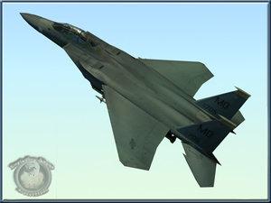 usaf f15e strike eagle 3d lwo