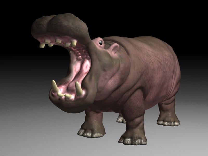 hippo 3d max