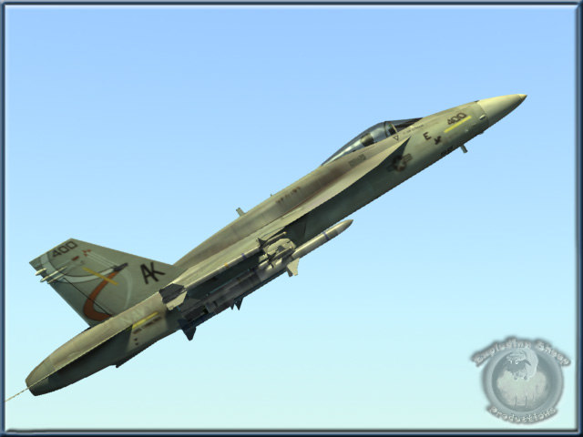 navy f18e hornet fighter 3d model