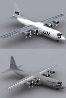 Hercules C-130 H-30 United Nations and USAF