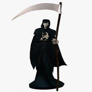 grim reaper death 3d model