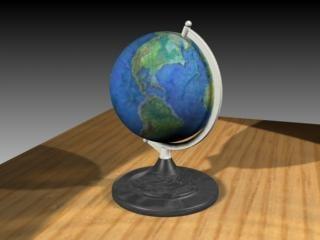 global 3d model