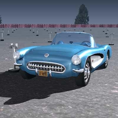 corvette 1957 max