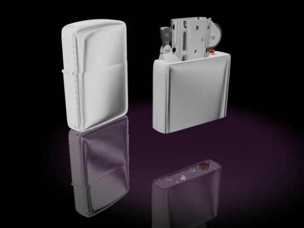 3ds max zippo lighter
