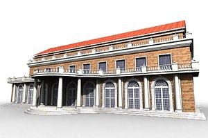 victorian building 3d model