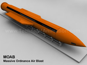 3d moab bomb