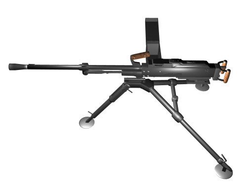 maya russian machine gun