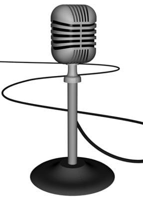 studios microphone drs 3d model