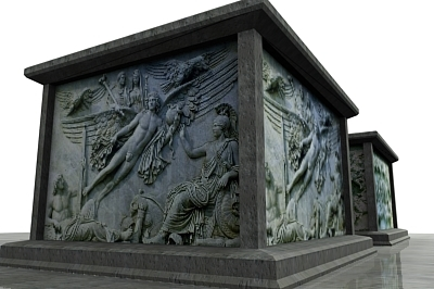 3d monument sculpture