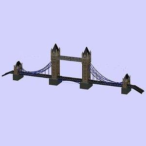 3ds max tower bridge