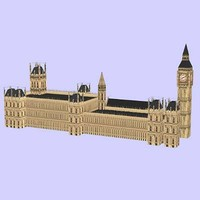 3d house parliament big