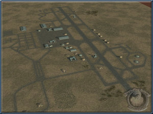airbase aircraft bunkers 3d lwo