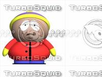 3d cartman south park model