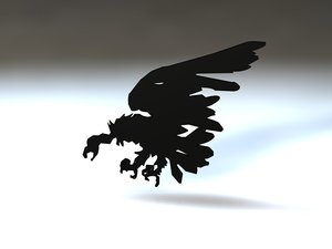 3ds max birds vulture