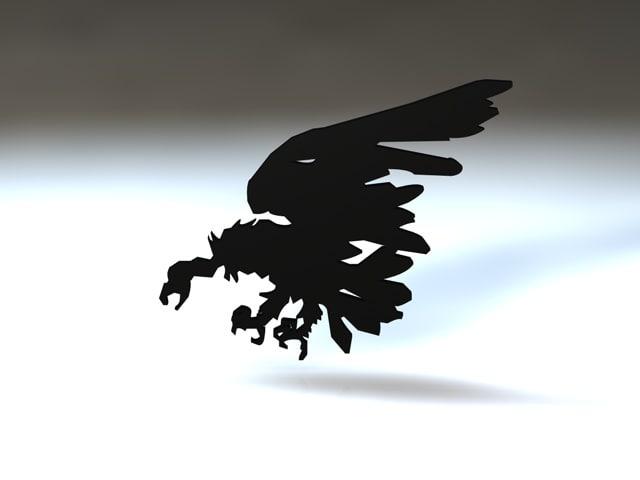 3ds max birds vulture