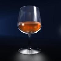 3dsmax brandy snifter