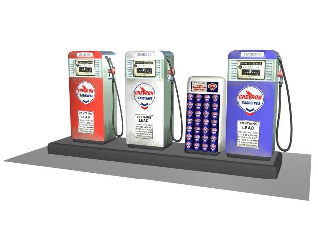 3d 3ds gas pump