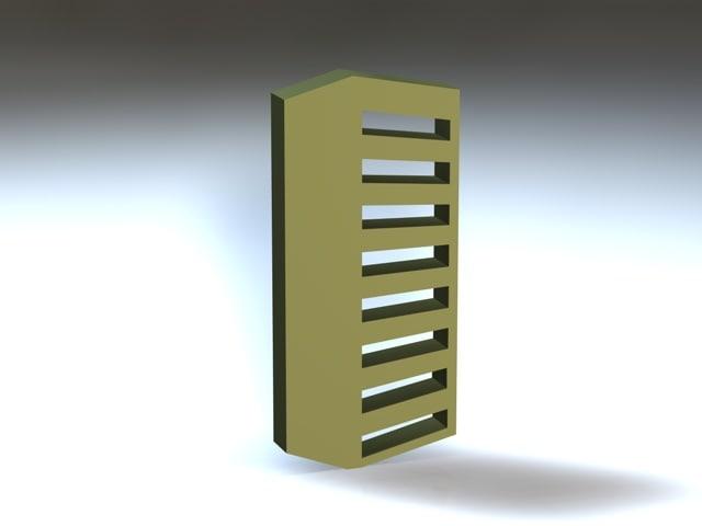 slimshaders 3d model