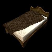 fantasy bed 3d max
