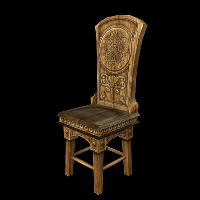 chair realtime 3d model