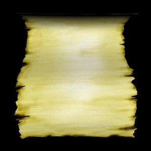 parchment scroll 3d model