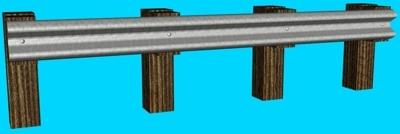 3d model guard rail