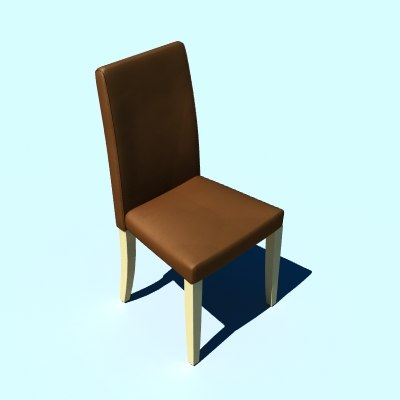 3d model dining chair