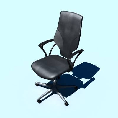 3d managers chair