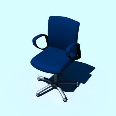 3d operators chair