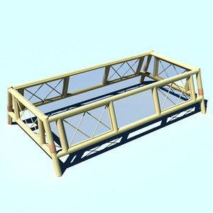 lightwave bamboo table