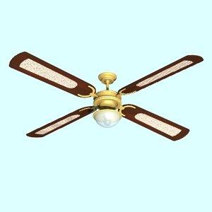 fan ceilingfan 3d lwo