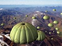 parachute chute 3d model