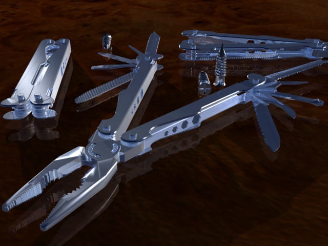 leatherman toolkit 3d 3ds