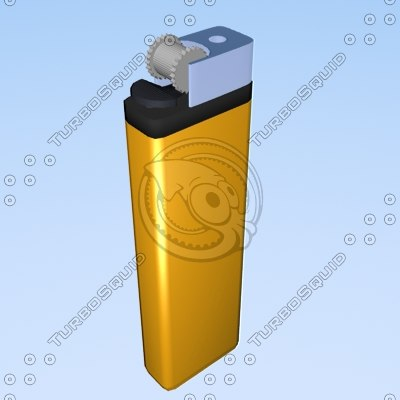 lighter 3d lwo