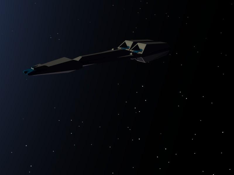 3ds spaceship