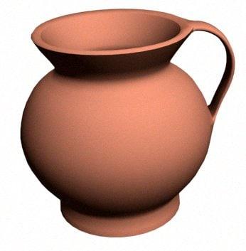 3d model of jug