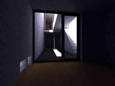 azuma house tadao ando 3d model