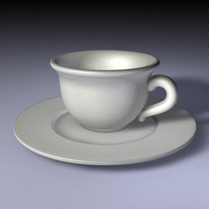3d cup plate