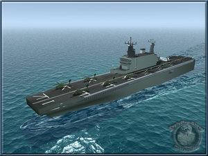 tarawa lha carrier 3d model