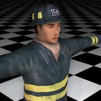 3d model human male guy