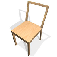 3ds max ply chair