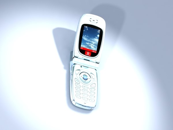 3d model sharp gx10 phone