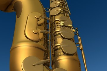 3d saxaphone sax model