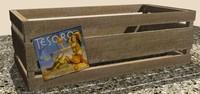 produce crate 3d max