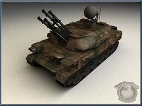 3d zsu-23-4 shilka model
