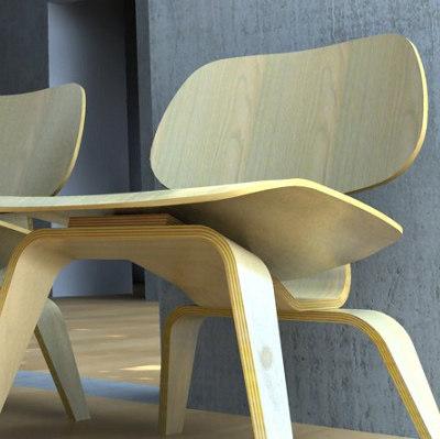 seating kit chair 3d model