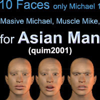 asian man faces pz3 free