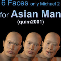 asian man faces pz3 free