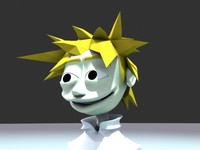 urban boy character morphs 3d max