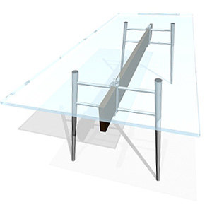 3ds max table starck